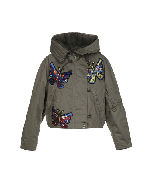 Jeremy Scott - Green Jacket - Lyst