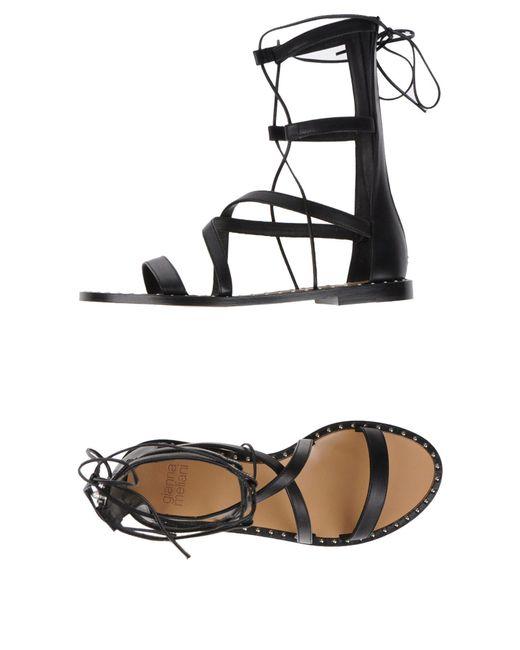 Gianna Meliani - Black Sandals - Lyst