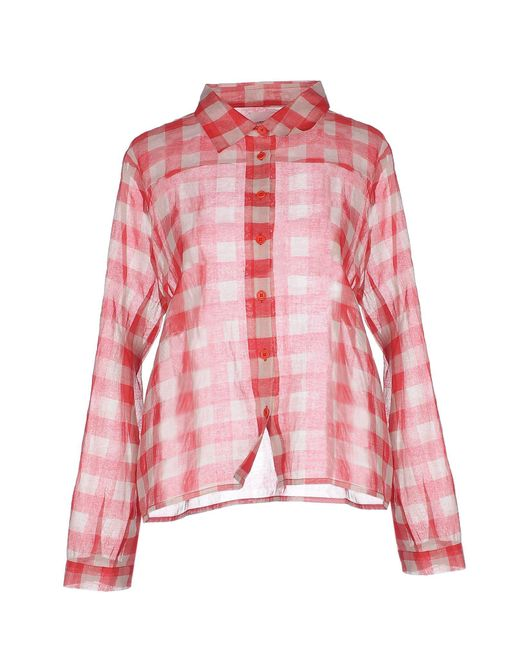 Laurence Doligé - Red Shirt - Lyst