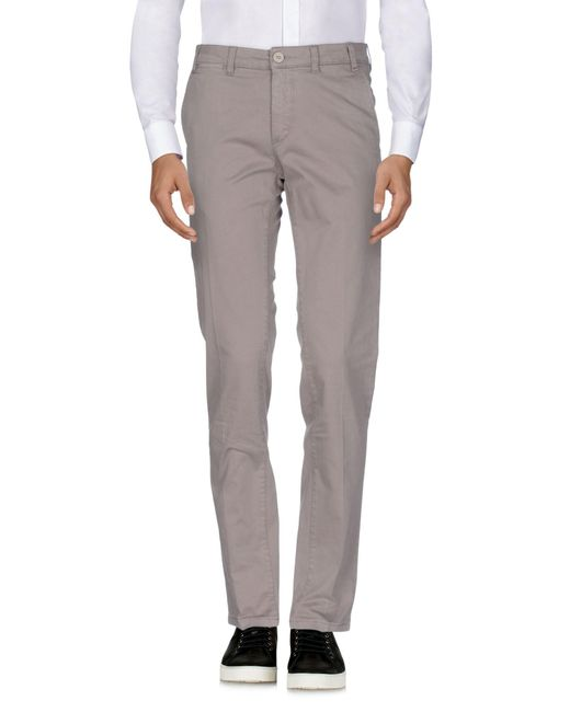 Henry Smith - Gray Casual Trouser for Men - Lyst