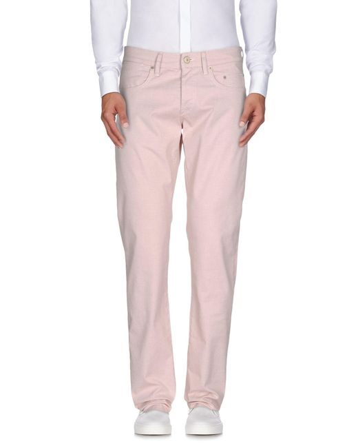 Siviglia - Red Casual Pants for Men - Lyst