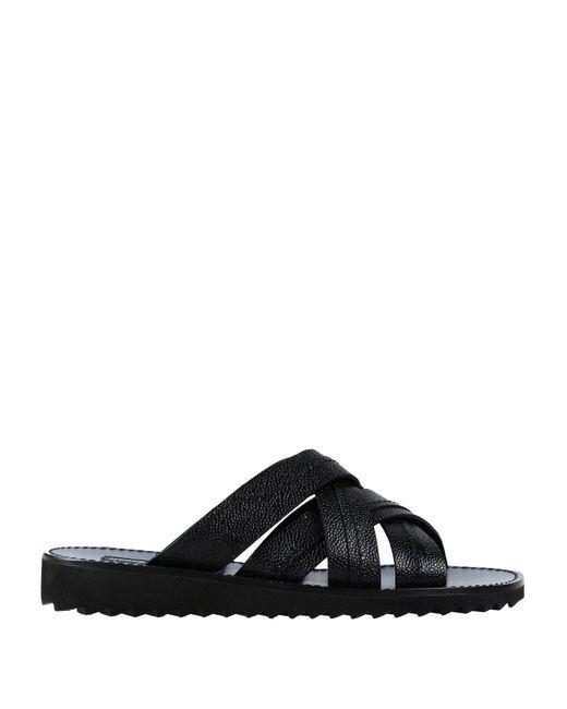 9909c049c13413 Dolce   Gabbana - Black Sandals for Men - Lyst ...