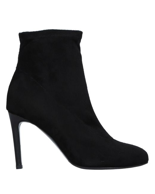 Gianni Marra - Black Ankle Boots - Lyst