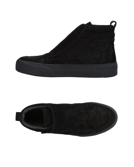 Paura - Black High-tops & Sneakers - Lyst