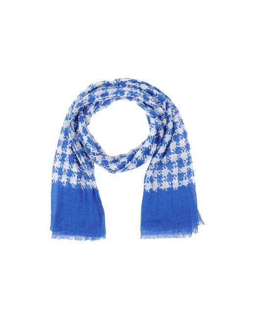 Altea - Blue Scarf - Lyst