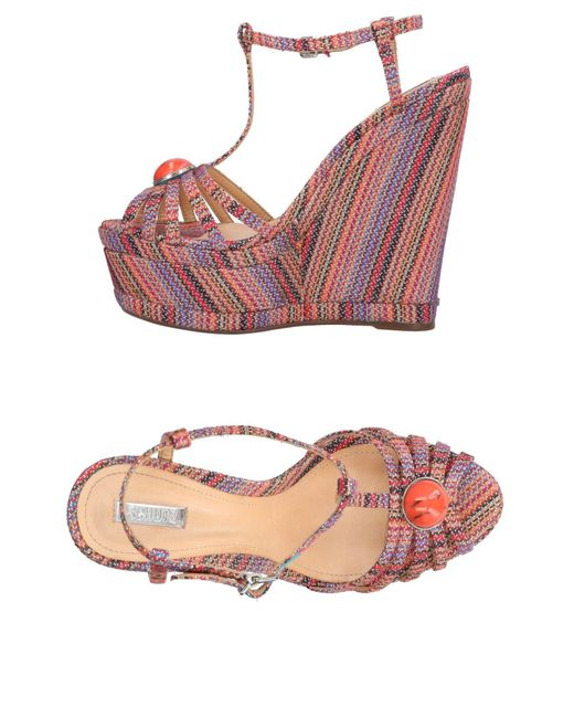 Schutz | Orange Sandals | Lyst