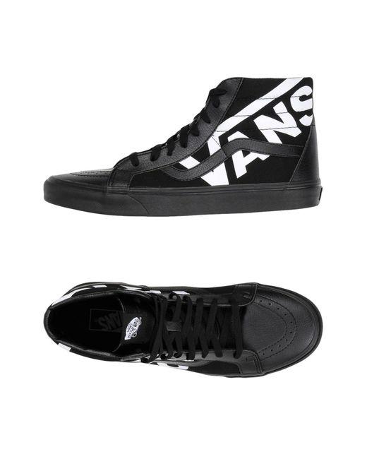 Vans Black High-tops & Sneakers for men
