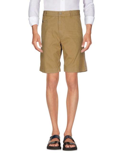 Replay - Natural Bermuda Shorts for Men - Lyst