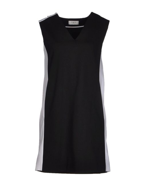 Ports 1961 - Black Short Dress - Lyst