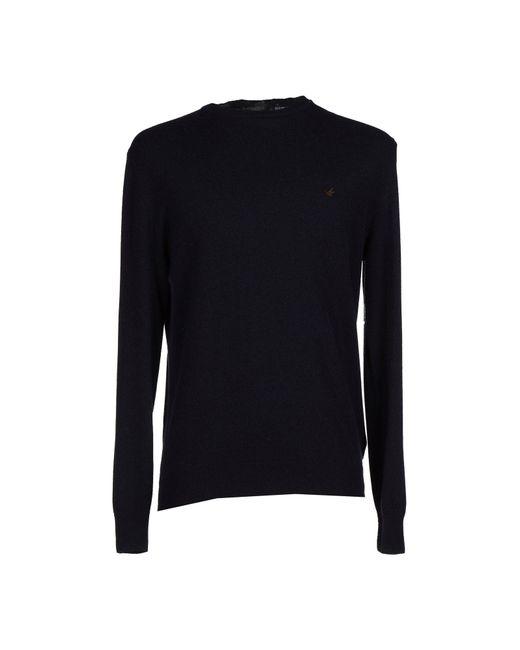 Brooksfield - Blue Sweaters for Men - Lyst