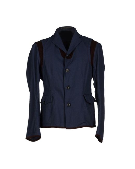 Kolor - Blue Blazer for Men - Lyst