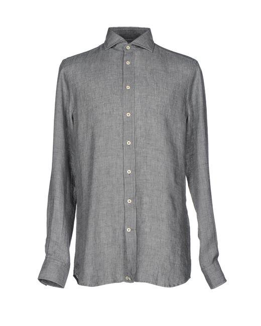 Baldessarini - Gray Shirt for Men - Lyst