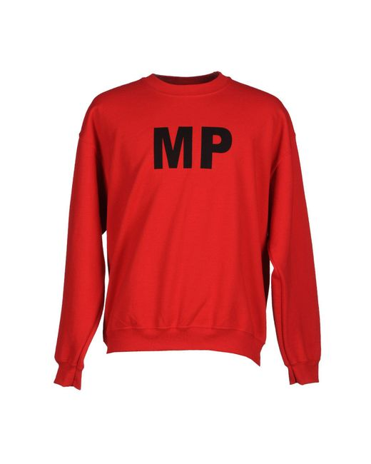 Mp Massimo Piombo | Red Sweatshirt for Men | Lyst