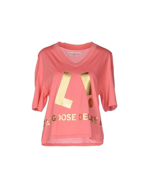 Golden Goose Deluxe Brand - Pink T-shirt - Lyst