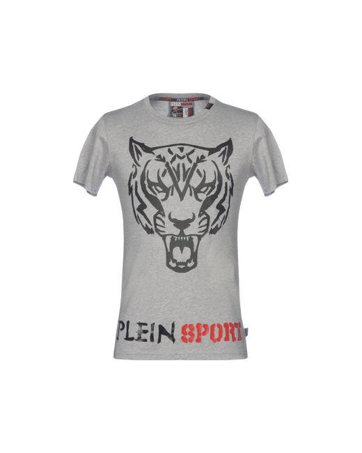 Philipp Plein - Gray T-shirt for Men - Lyst