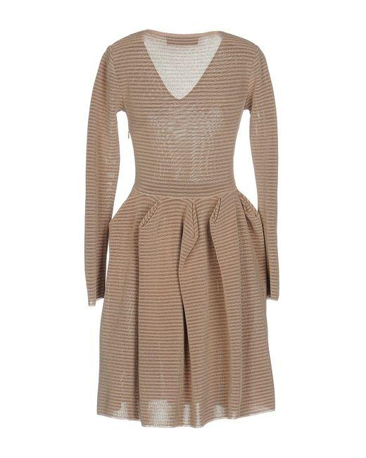 Antonino Valenti - Pink Short Dress - Lyst