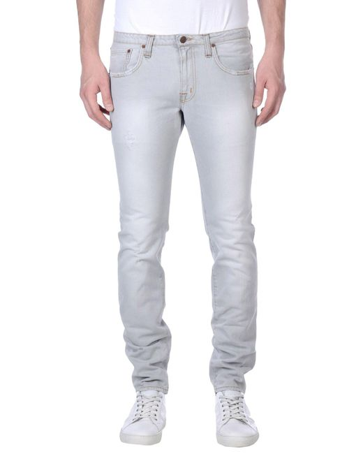 People - Gray (+) People Denim Trousers for Men - Lyst