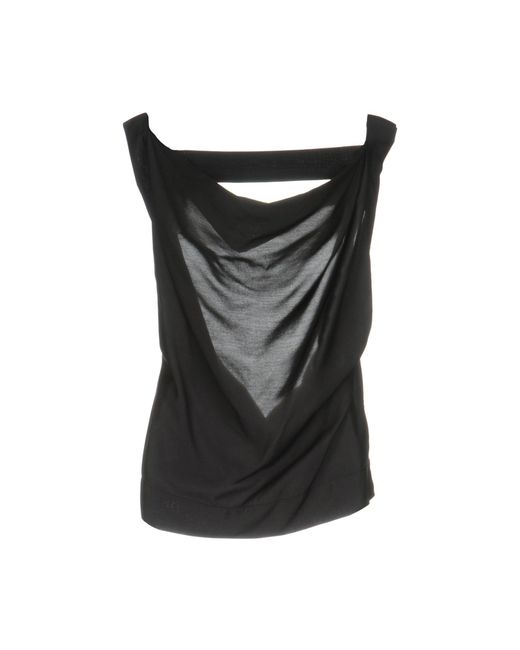 Vivienne Westwood Anglomania - Gray Top - Lyst