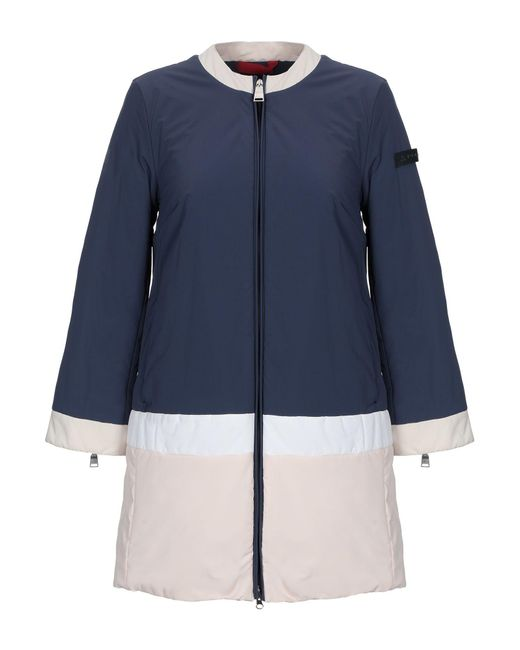 Peuterey - Blue Synthetic Down Jacket - Lyst
