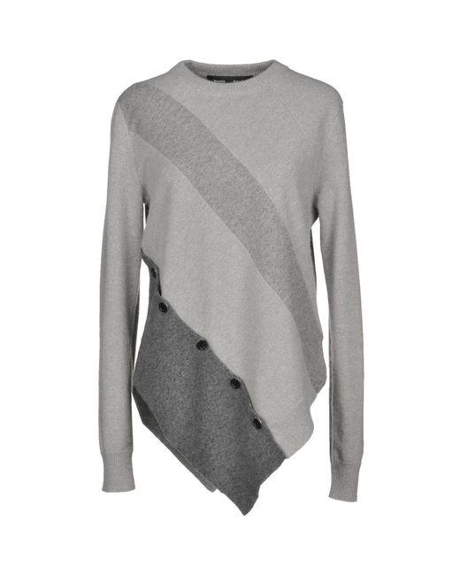 3cb564b5fed9a Proenza Schouler - Gray Sweater - Lyst ...