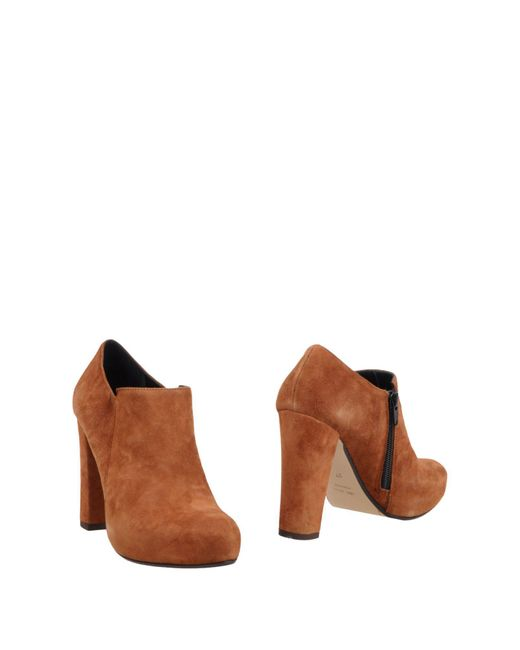 Couture - Brown Shoe Boots - Lyst