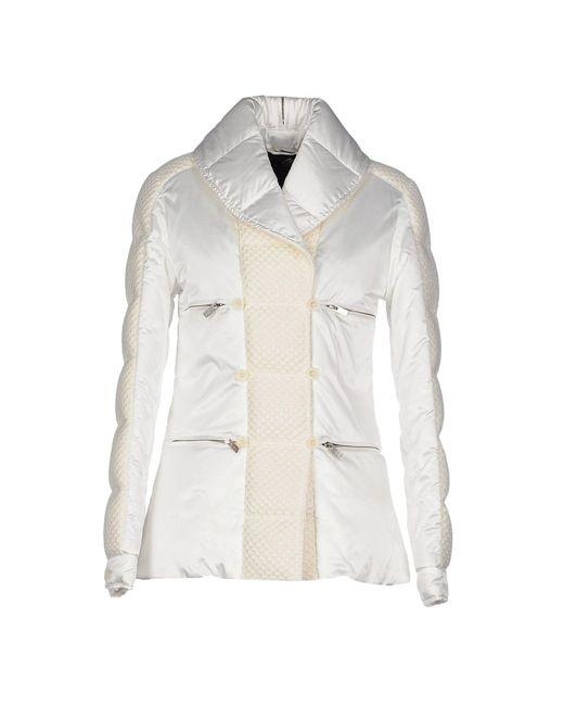 Hogan by Karl Lagerfeld - White Down Jacket - Lyst