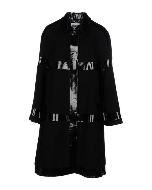 Moschino - Black Coat - Lyst