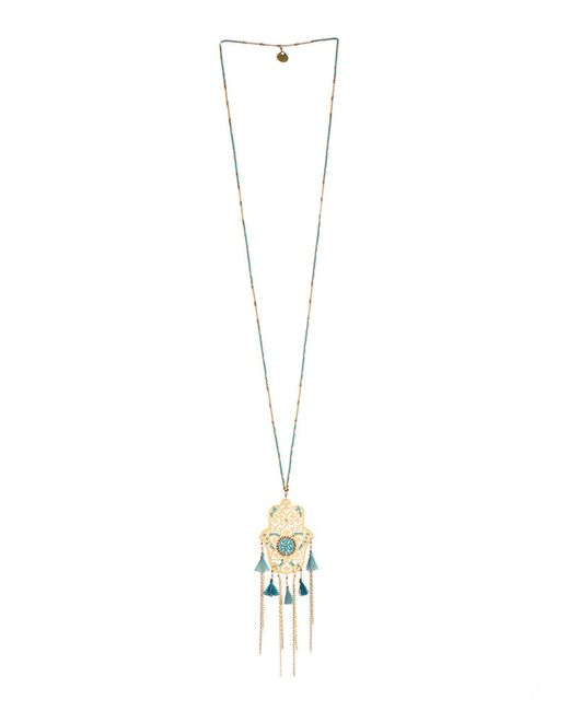 Mishky - Metallic Necklace - Lyst