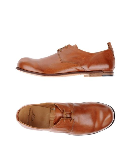 Officine Creative - Brown Lace-up Shoe for Men - Lyst