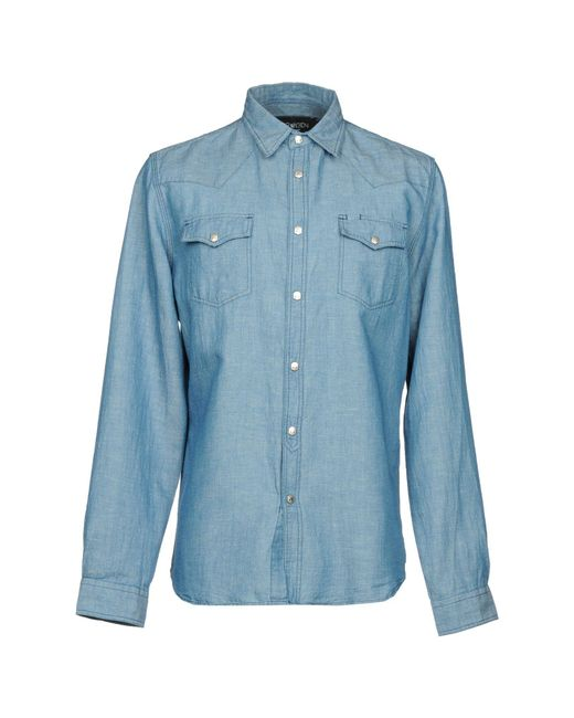 DENIM - Denim shirts Hydrogen Outlet Pre Order Discount Amazing Price Discount Price Buy Cheap Ebay Perfect s8pSxID