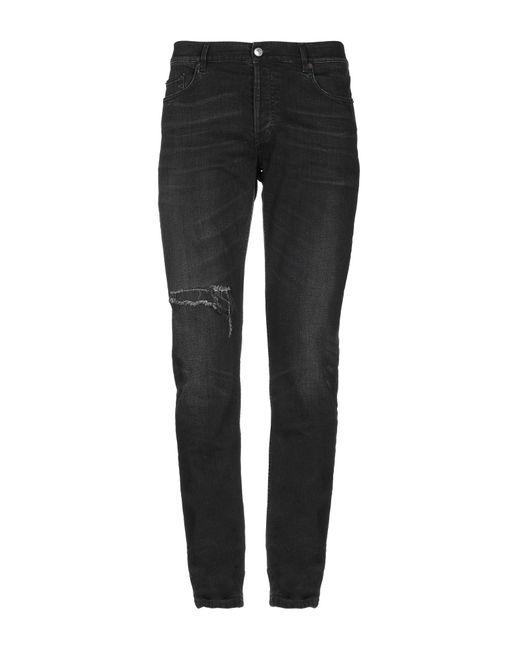 b178f7bbb0ca49 Balenciaga - Black Denim Trousers for Men - Lyst ...
