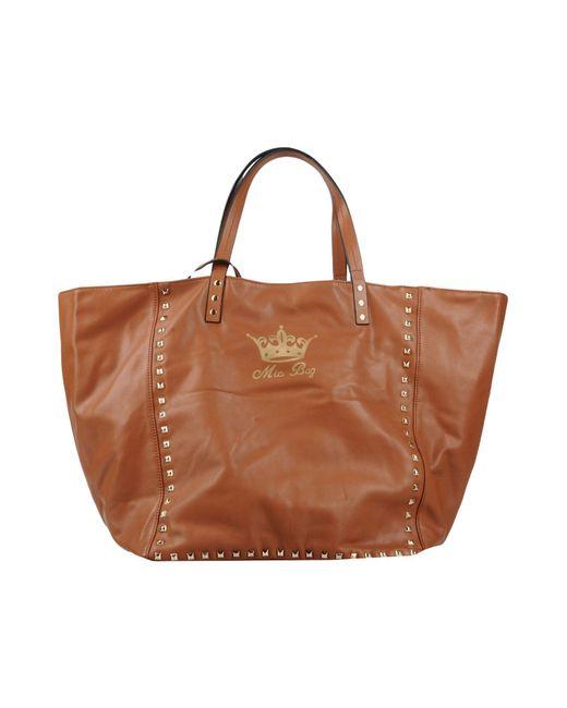 Mia Bag - Brown Handbag - Lyst