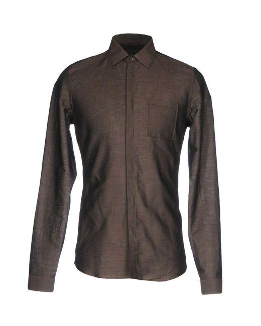 9f6174486d Belstaff - Gray Shirt for Men - Lyst ...