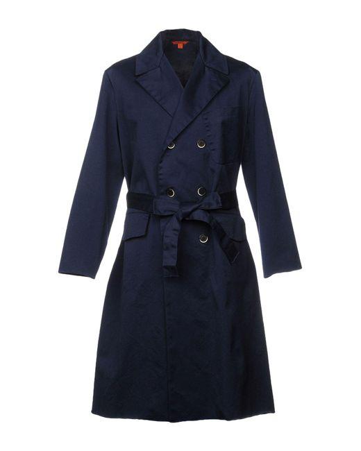 Barena - Blue Overcoat - Lyst