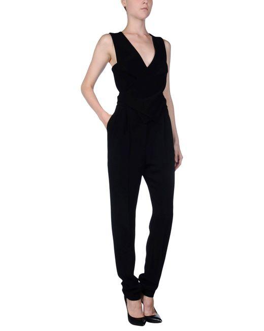 Lanvin - Black Jumpsuit - Lyst