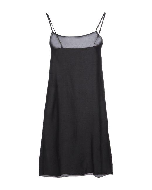 Schumacher | Black Short Dress | Lyst