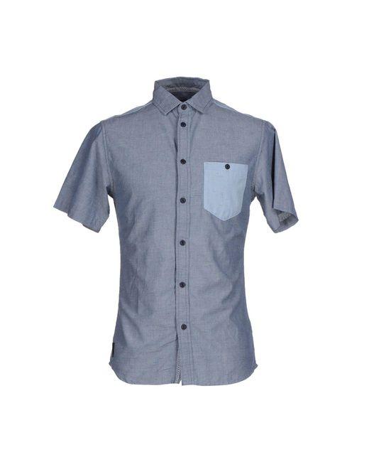 Humor - Blue Shirt for Men - Lyst