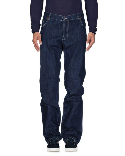 Seventy | Blue Denim Pants for Men | Lyst