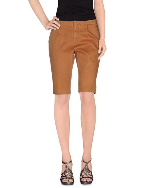 TRUE NYC - Multicolor Denim Bermudas - Lyst