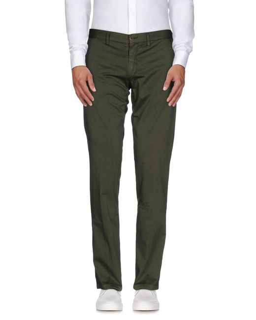 Massimo Rebecchi - Green Casual Pants for Men - Lyst