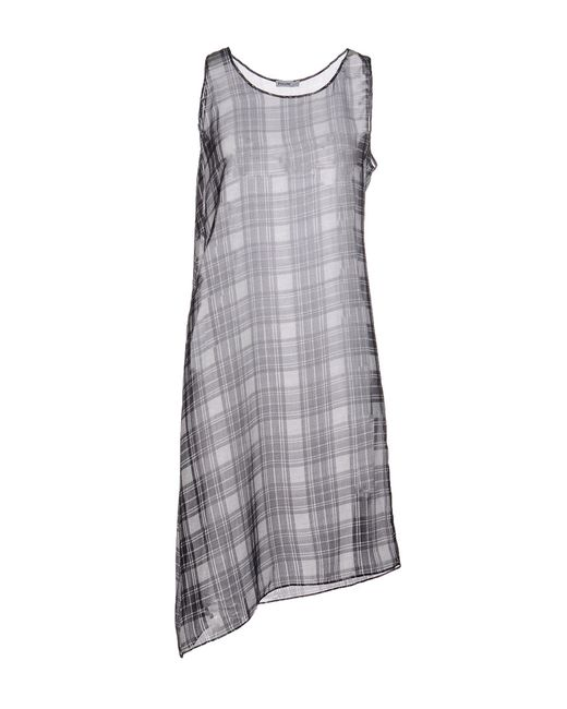 Pollini By Rifat Ozbek - Black Short Dress - Lyst