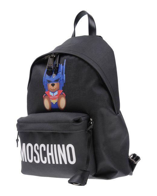 Moschino - Black Backpacks & Fanny Packs - Lyst