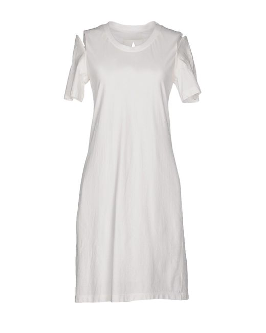 Maison Margiela - White Short Dress - Lyst