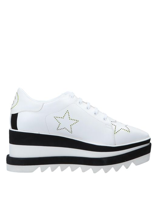 Stella McCartney - White Lace-up Shoe - Lyst