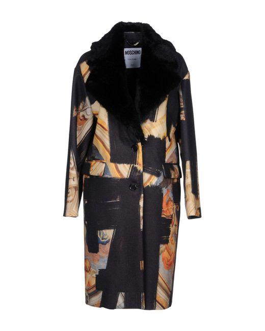 Moschino - Black Coats - Lyst