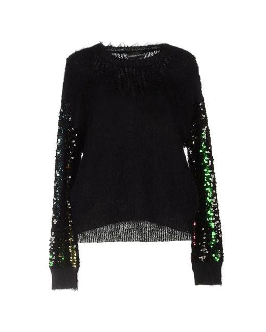 Emporio Armani - Black Sweaters - Lyst