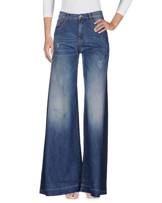 Amen - Blue Denim Pants - Lyst