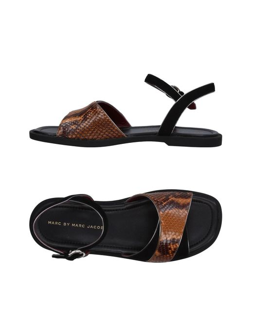 Marc By Marc Jacobs - Brown Sandals - Lyst