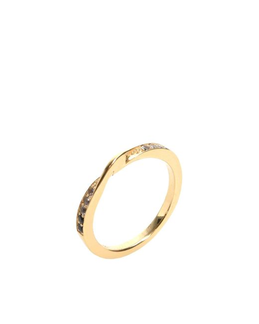Elizabeth and James | Metallic Ring | Lyst