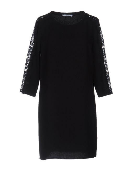 Liu Jo - Black Short Dress - Lyst